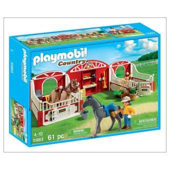 box chevaux playmobil
