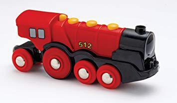 brio motorised train