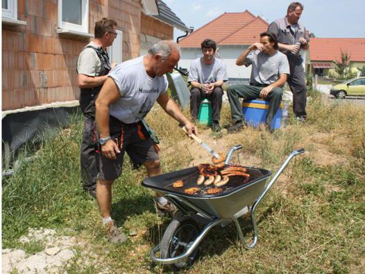 brouette barbecue