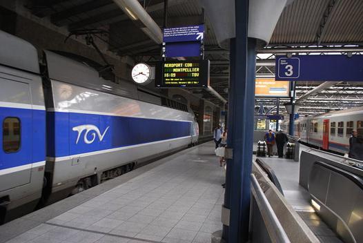 bruxelles cannes train
