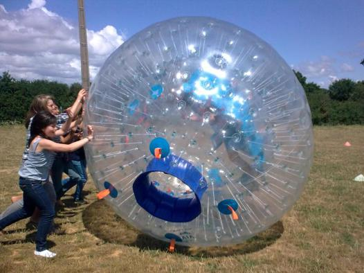 bulle géante gonflable
