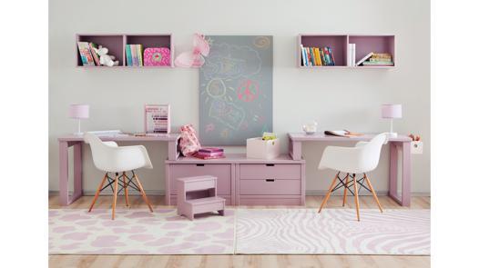 bureau double enfant