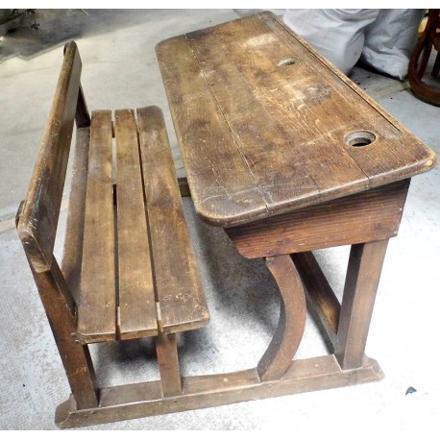 bureau pupitre bois