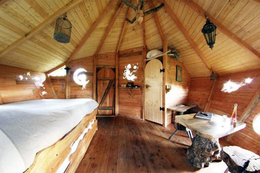 cabane interieur