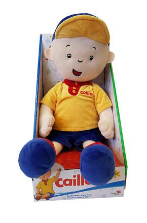 caillou peluche