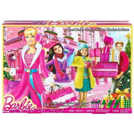calendrier avent barbie