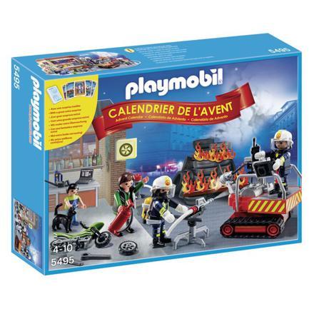 calendrier de l avent playmobil pompier