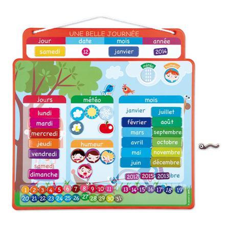 calendrier jouet