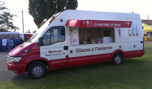 camion a glace