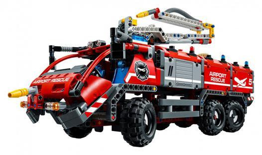 camion de pompier lego technic