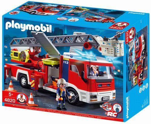 camion de pompier playmobil 4820