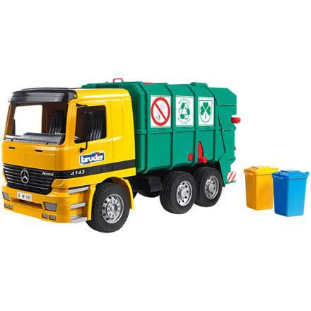 camion de poubelle bruder