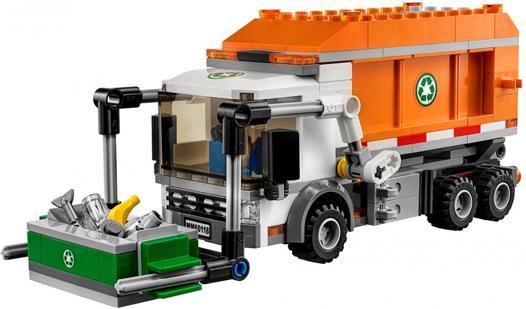 camion de poubelle lego