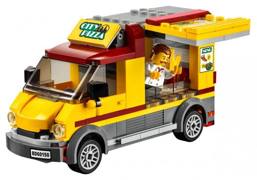 camion pizza lego