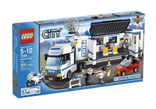 camion police lego