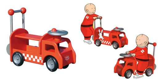 camion porteur pousseur pompier vilac