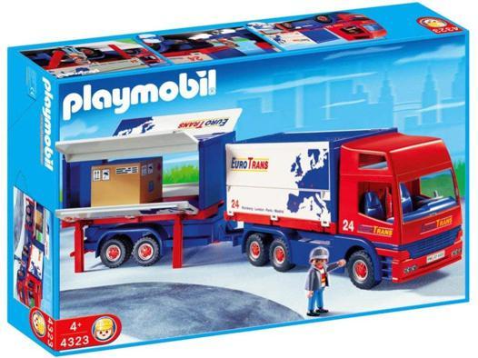 camion remorque playmobil