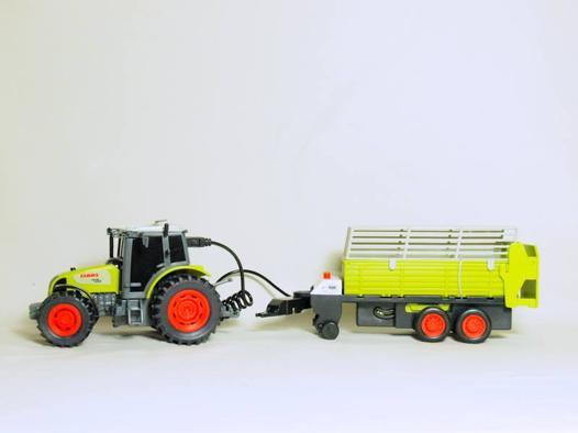 camion téléguidé avec remorque