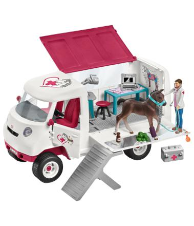 camion veterinaire schleich