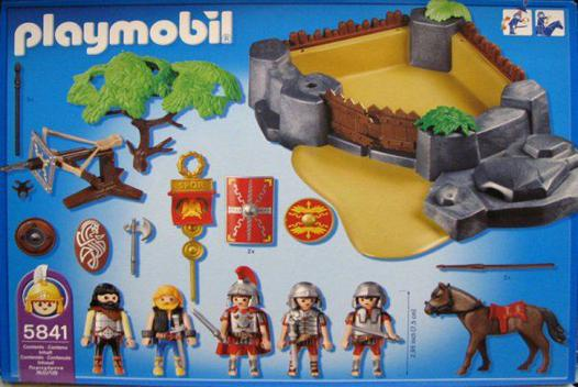 camp romain playmobil