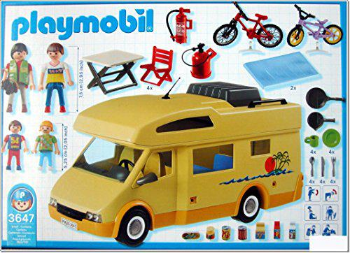 camping car playmobil 3647