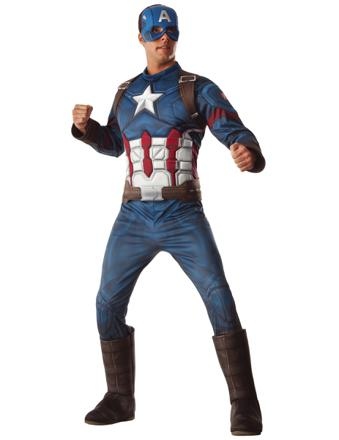 captain america deguisement adulte