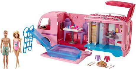 caravane de barbie