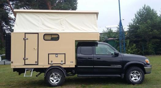 caravane pour pick up
