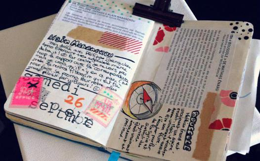 carnet pour journal intime