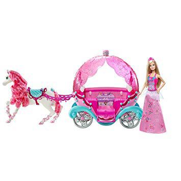 carrosse barbie mattel