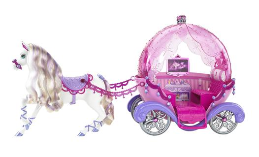 carrosse barbie
