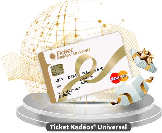 carte cadeau ticket kadeos universel