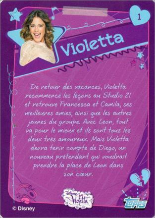 carte de violetta