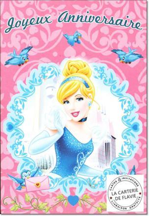 carte disney princesse