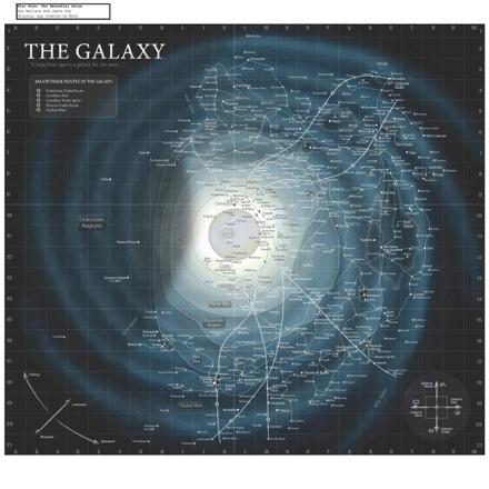 carte galaxie star wars