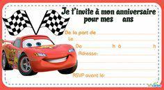 carte invitation cars