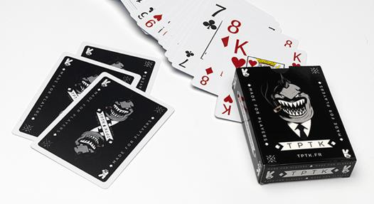 carte poker plastique