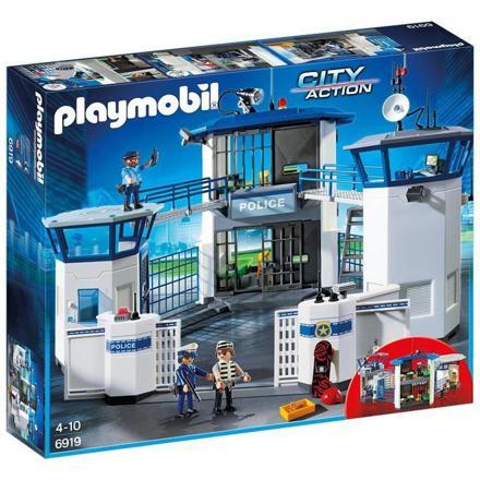 caserne de police playmobil