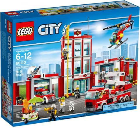 caserne de pompier lego city