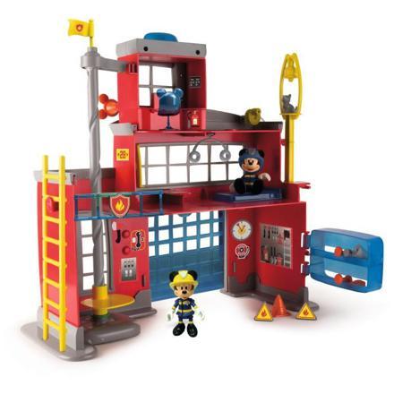 caserne de pompier mickey