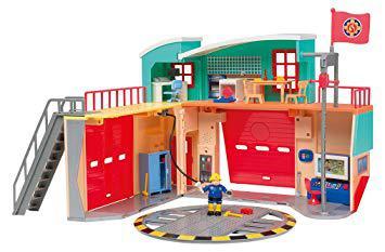 caserne de pompier sam