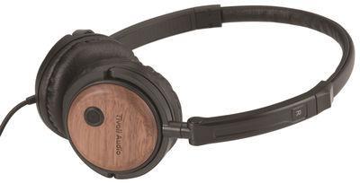casque audio bois