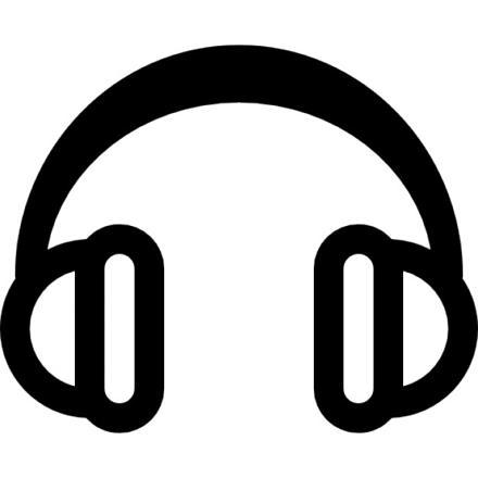 casque audio dessin
