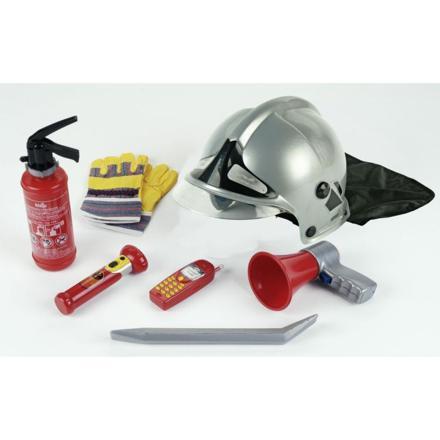 casque de pompier en jouet