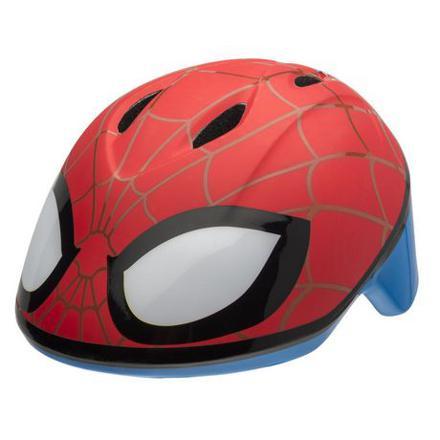 casque velo spiderman