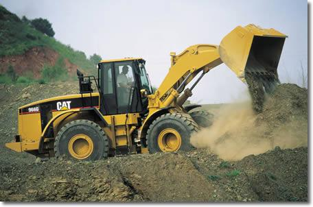 caterpillar machines de chantier