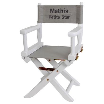 chaise personnalisée bébé