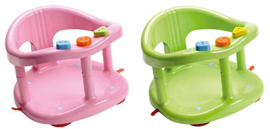 chaise pour bain bébé