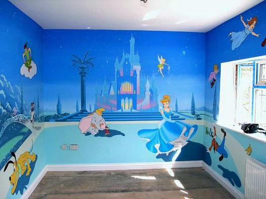 chambre enfant disney