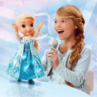 chante avec la reine des neiges